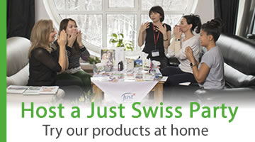 Host a SwissJust Party